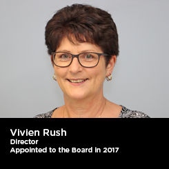 Vivien Rush Director Appointed to the Board in 2017